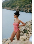 Pink Pomegranate - One Piece with underwire